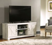 Bellaby Whitewash LG TV Stand | W331-68   Houston, 77036