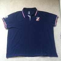 Men's blue and red Polo shirt North Vancouver, V7P