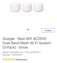 Google new WIFI system