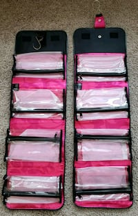 NEW MARYKAY MAKEUP TRAVEL HANGING ORGANIZER  53 km