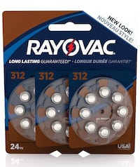 312 hearing aid batteries 24 count Loveland, 80538