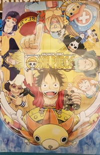 One Piece poster from the 2018 New York Comic Con  Catonsville, 21228