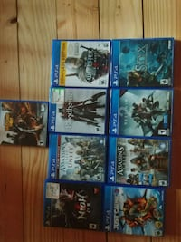 assorted Sony PS4 game cases Bandera, 78003