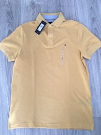 New Tommy Hilfiger polo shirt yellow men small Gatineau, J9A