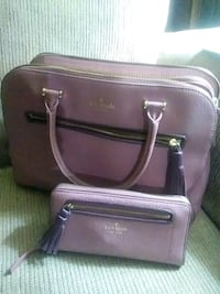 Pinkish purple leather Kate spade  purse New Smyrna Beach, 32168