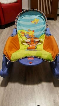 Fisher-Price newborn-to-toddler rocker battery operated