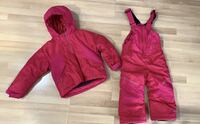 Columbia Toddler Buga Snow set (bibs and jacket)- in EUC! Vancouver