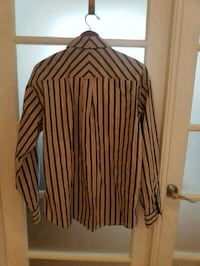 Men striped dress shirt Mississauga, L5M 4Z9