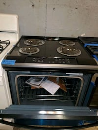 Coil electric stove NEW scratch and dent Baltimore, 21223