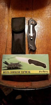 Delta Command Tactical Knife With Case And Box Jefferson
