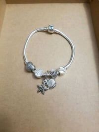 Bracelet with silver charms  Bloomingdale, 60108