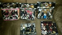 WW wrestling action figure boxes Perris, 92571
