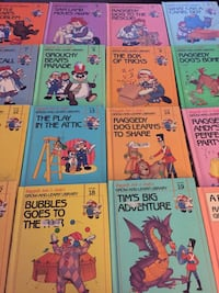 Raggedy Ann & Andy's Grow-and-Learn Library (19 books + Patent's Guide Albuquerque, 87102