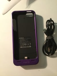 Mophie IPhone 5/5s/Se charging case  Bayside, 53217