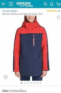 Tommy Hilfiger Womans Winter Cold Weather Basic Coat