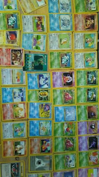 assorted Pokemon trading card collection Edmonton