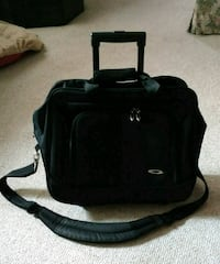 Rolling laptop / briefcase