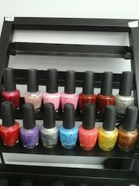 Used O.p.i. nail Lacquer set of 14 only for$ 35 Surrey, V3V 4B8