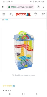 blue and yellow plastic pet cage Knoxville, 37920