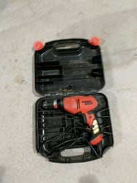 red and black corded hand drill Surrey, V3S