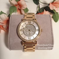 BRAND NEW MICHAEL KORS CATLIN MOTHER OF PEARL WATCH Herndon, 20170