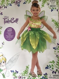 Tinker bell girls costume 4-6 Sterling, 20165