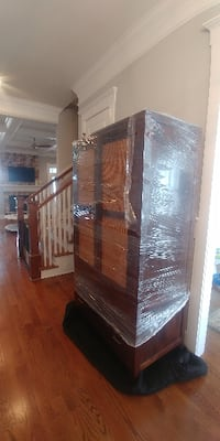 Crate and Barrel armoire Evans