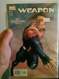 Weapon x(2003) Mississauga, L5H 3W6