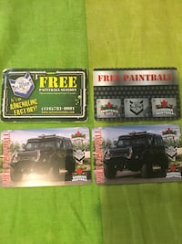 4 Paintball Passes (10 people group) Toronto, M6M 1M9