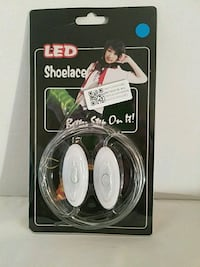 Led Shoelace Blue 1 Pair