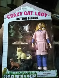 come with 6 cats action figure toy set Denver, 80216