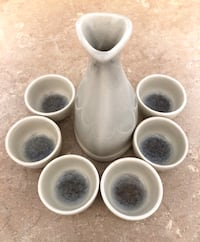 7pc Sake Set with Glass Infused Detail Montréal, H3N 2H8