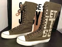 Juicy Couture Etsy Tall Canvas Sneakers Sz 5/35 Houston, 77090