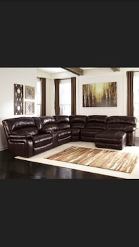 black leather sectional sofa screenshot Phoenix, 85018