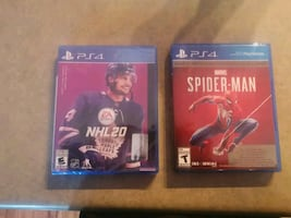 Nhl 20 and Spiderman