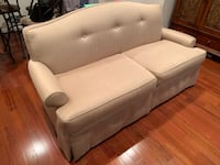 Sofa with two foot stools Fairfax, 22033