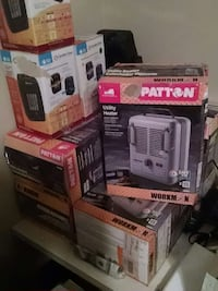 New space heaters