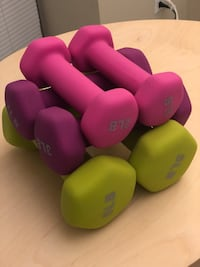 Six weight dumbbells (2-pound, 3-pound and 5-pound) Chicago, 60601