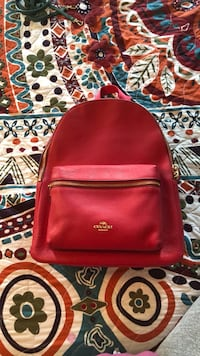 Coach Leather Backpack 25 km