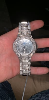 Charles Raymond Iced Out Watch Ridley Park, 19076