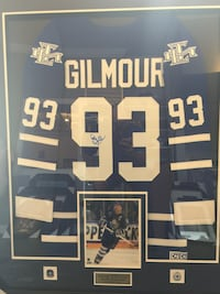 Custom jersey framing all sports