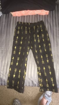 black and yellow floral pants Candler, 28715
