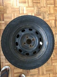 175 65 R14, honda fit, 4 winter tires with steel  Cambridge, N3H 0A9