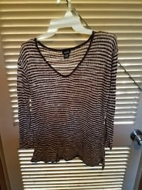 Knit striped lightweight swt