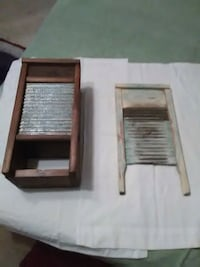 Two antique wash boards. Sumerduck, 22742