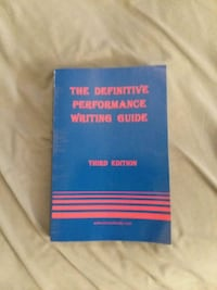 The Definitive Performance Writing Guide Third Edition Norfolk, 23505