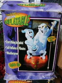 Halloween 3 ghost on a pumpkin airblown inflatable  Yonkers