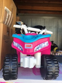 blue and red ride-on ATV toy Upland, 91786