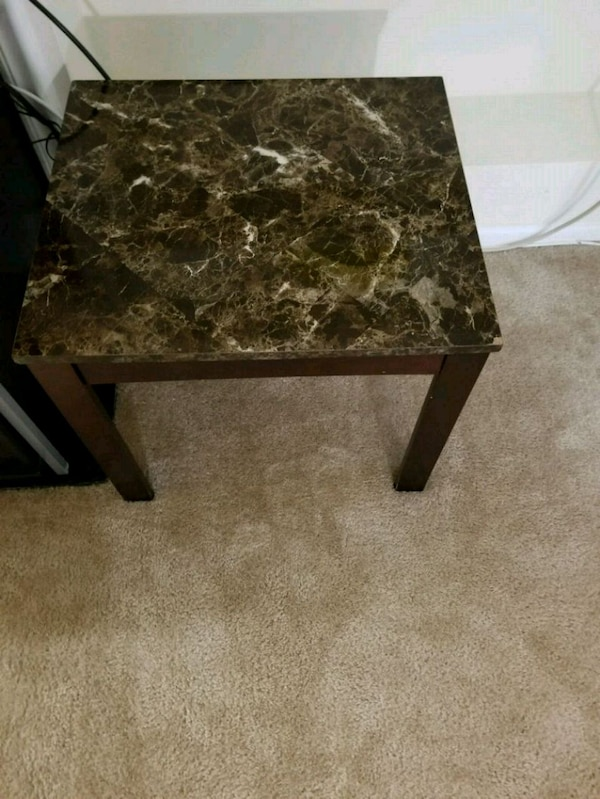 TWO side table