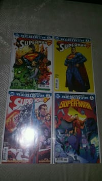 """DC Rebirth """"Super"""" lot of 4 issues"""